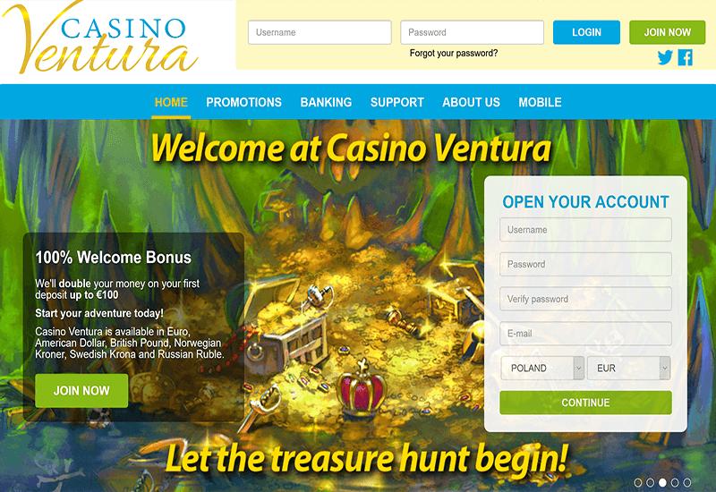 Casino Ventura Home Page