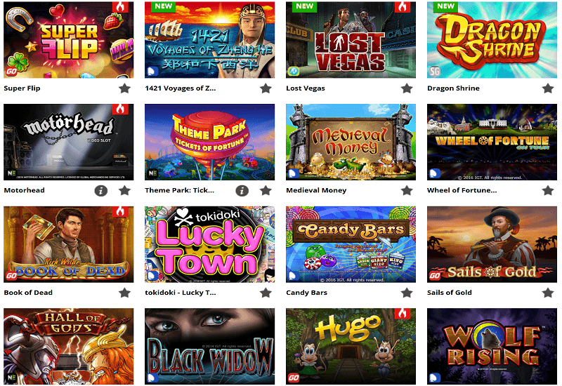 WildSlots Casino Video Slots