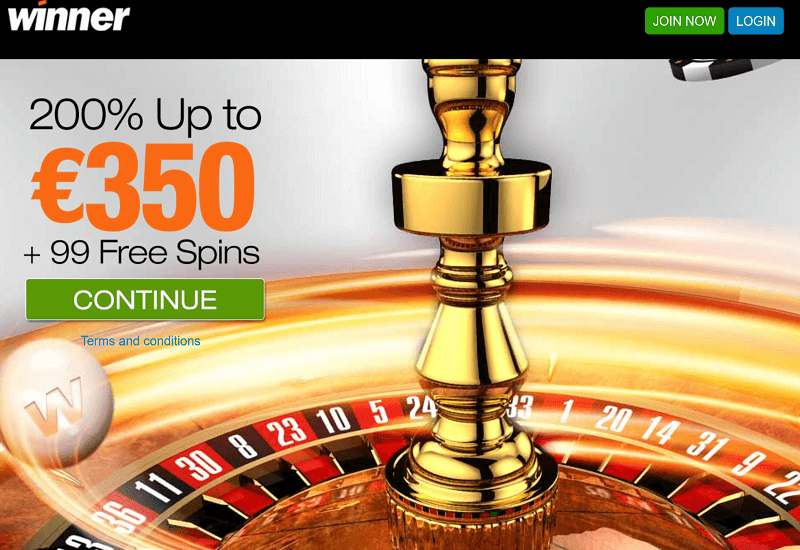 Winner Casino Promotion