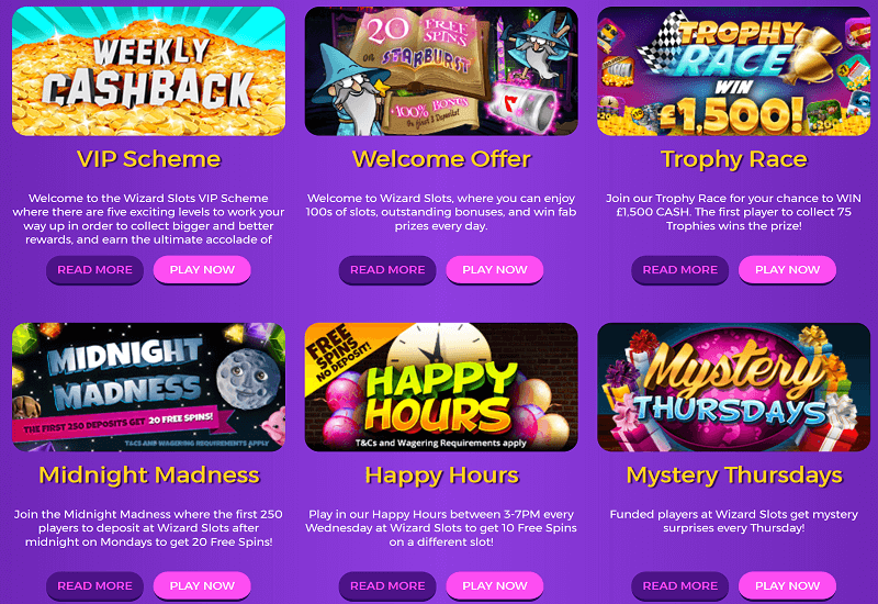 Wizard Slots Casino Promotion