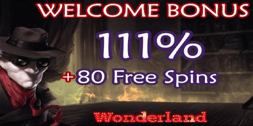 Wonderland Casino exclusive