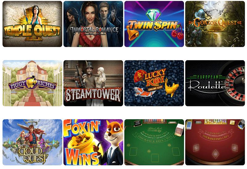 Wunderino Casino Video Slots