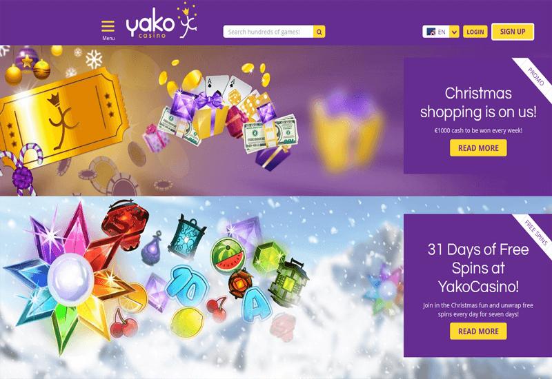 Yako Casino Promotions