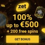 Zet Casino Bonus And  Review  Promotions