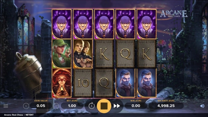 Arcane Reel Chaos Video Slot - NetEnt