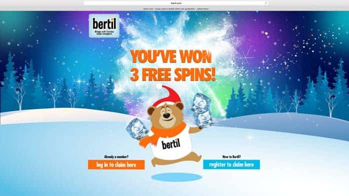 Bertil Casino promotion