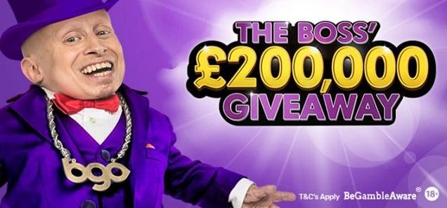 BGO Casino promotion