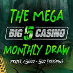 Big 5 Casino - The Mega Monthly Draw