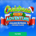 Xmas Level Up Adventure: €50,000 at BitStarz