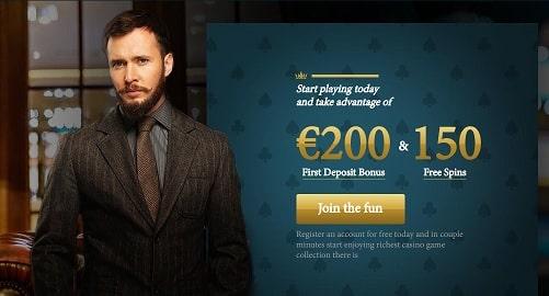 Calvin Casino bonus