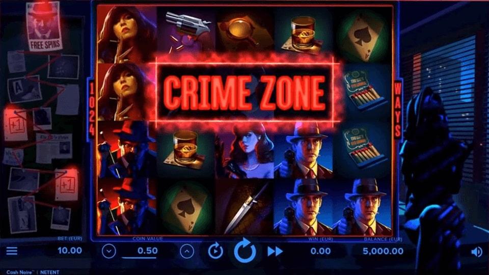 Cash Noire Video Slot - NetEnt