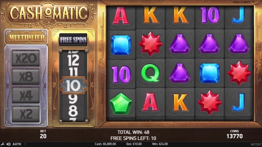 Cash-O-Matic Video Slot - NetEnt