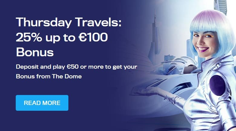 Casino Dome Promotion