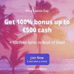 CasinoDays Review Bonus