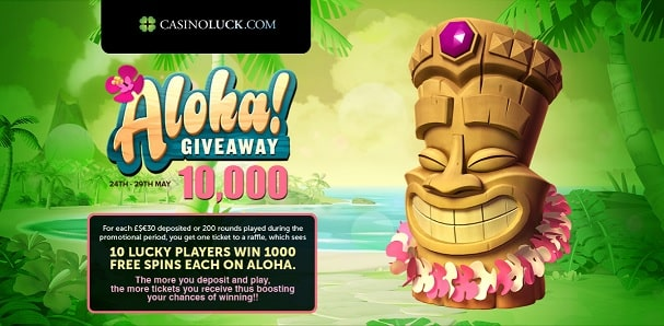 CasinoLuck free spins