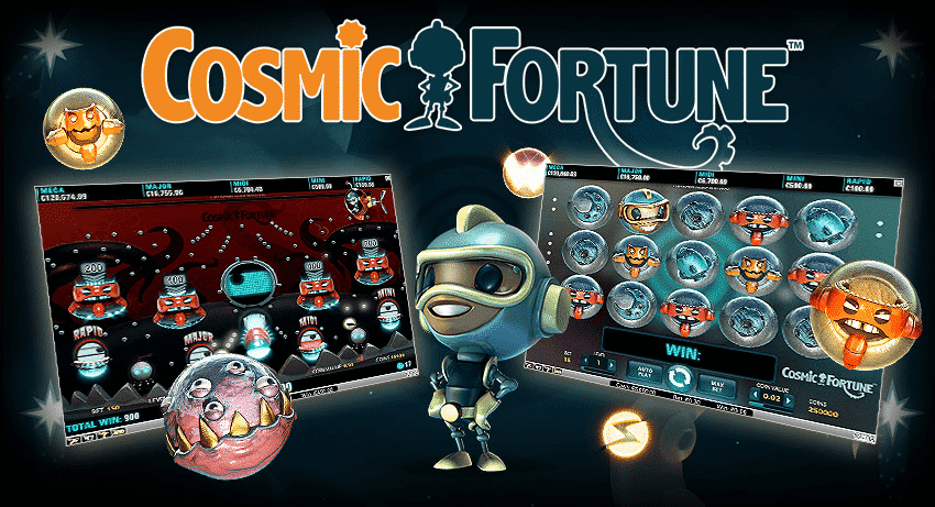 NetEnt Game - Cosmic Fortune