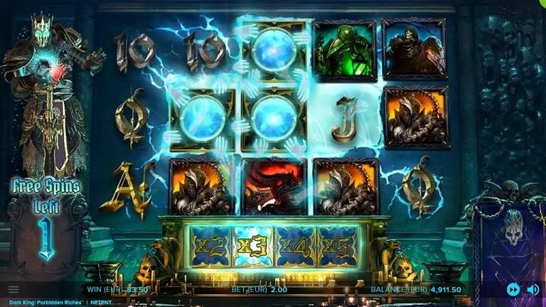 Dark King: Forbidden Riches Video Slot - NetEnt