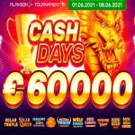 Evospin Casino - June Cashdays 60K