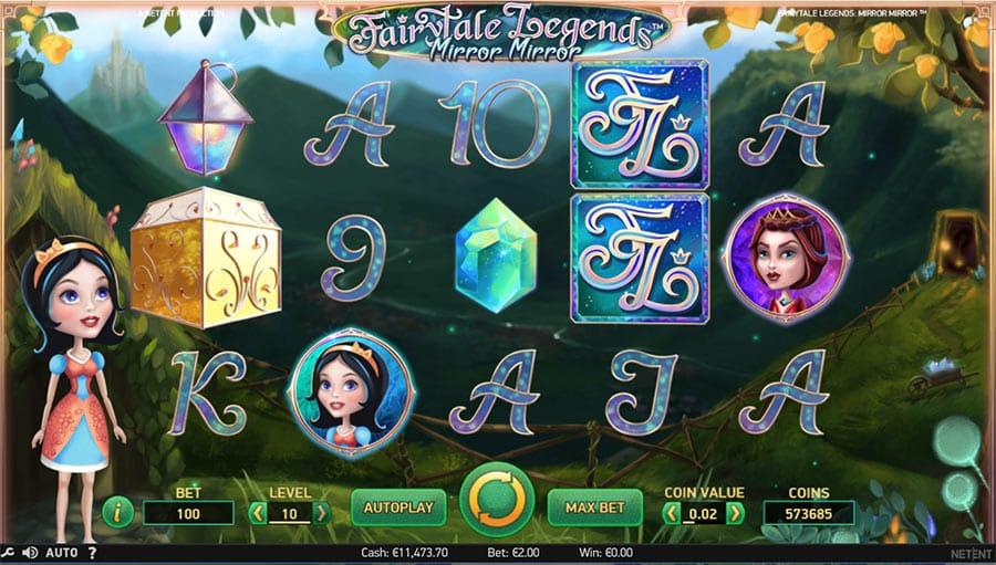 Fairytale Legends: Mirror Mirror Video Slot - NetEnt