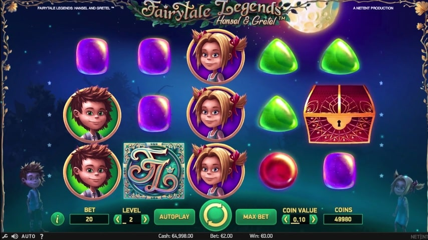 Fairytale Legends: Hansel & Gretel Video Slot from NetEnt