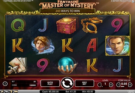 Fantasini Master of Mystery - NetEnt