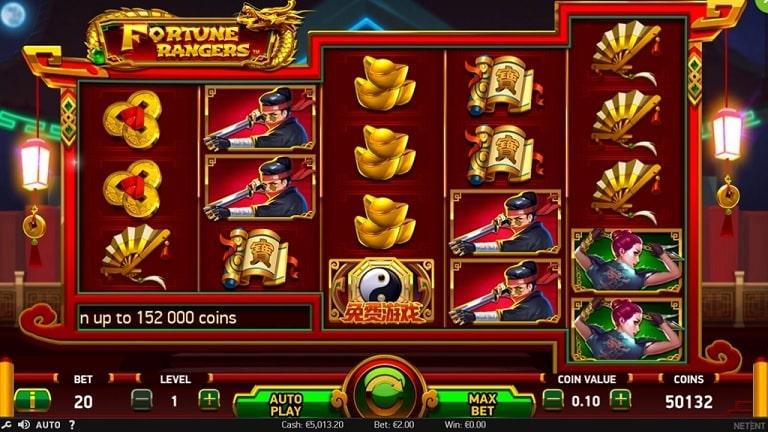 Fortune Rangers Video Slot - NetEnt