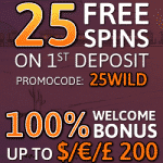 25 Free Spins from Glimmer Casino