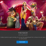 The Race continues at online casino Goliath