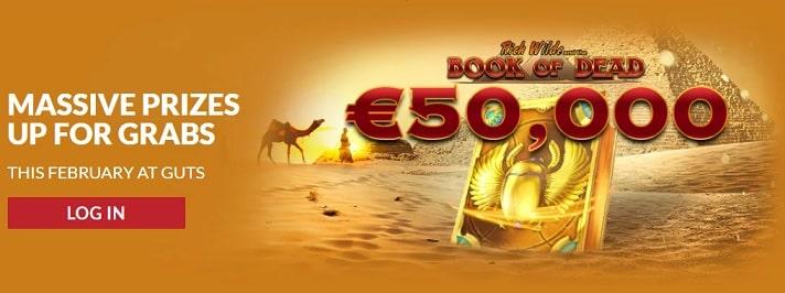 Guts Casino Promotion