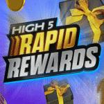 High 5 Casino - Rapid Rewards: €10,000