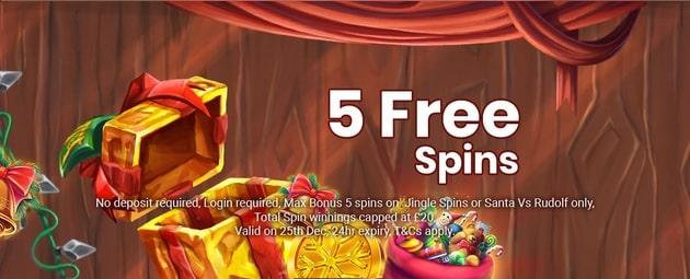 Jackpot Slot Casino Promotion