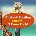 Collect up to 255 Free Spins at Jackpot Paradise