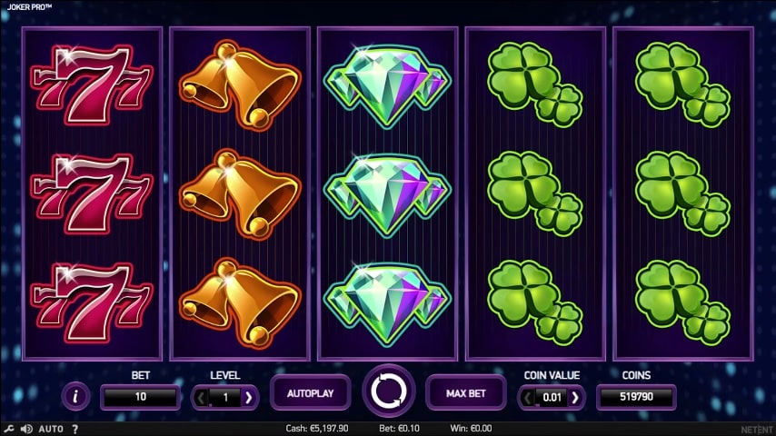 Joker Pro Video Slot from NetEnt