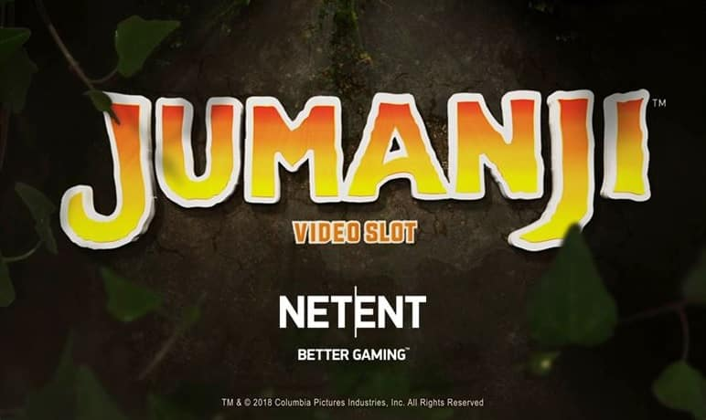 Jumanji Video Slot - NetEnt