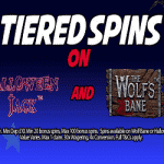 Tiered Spins on selected games from Kerching!