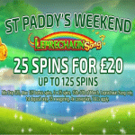 St Paddy's Weekend at the Love Reels casino