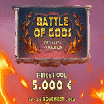 Magical Spin Casino - Battle of Gods: €5,000
