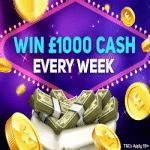 Win £1000 cash - every week at Magical Vegas