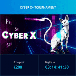 Mr Bit Casino - Cyber X Tournament: Cash + Spins