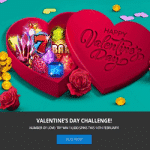 MrFavorit Valentine's Day Challenge: 14,000 Spins