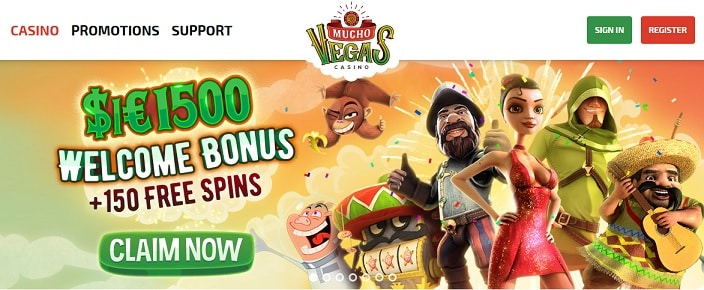 Mucho Vegas Casino welcome offers