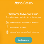 Nano Casino Review Bonus