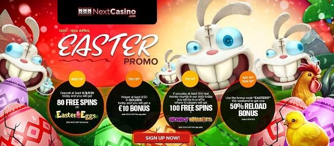 NextCasino promotion