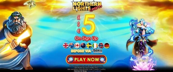 Northern Lights Casino bonus