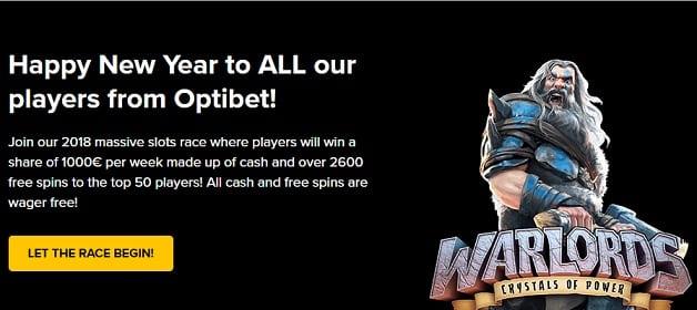 Optibet Casino Promotion