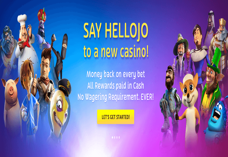 playOJO Casino Home Page
