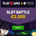 PlayAmo Casino Slot Battle: €2,500
