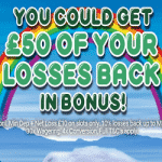 Up to £50 back on losses at Pyramid's Fortune