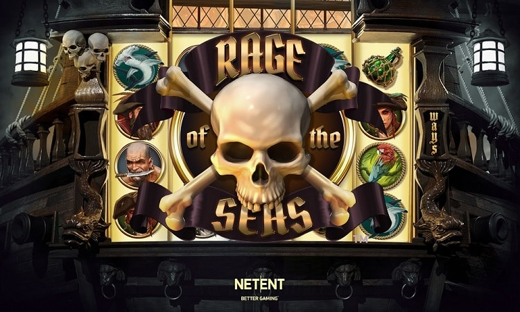 Rage of the Seas Video Slot - NetEnt