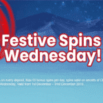 Festive Spins Wednesdays with Sapphire Rooms